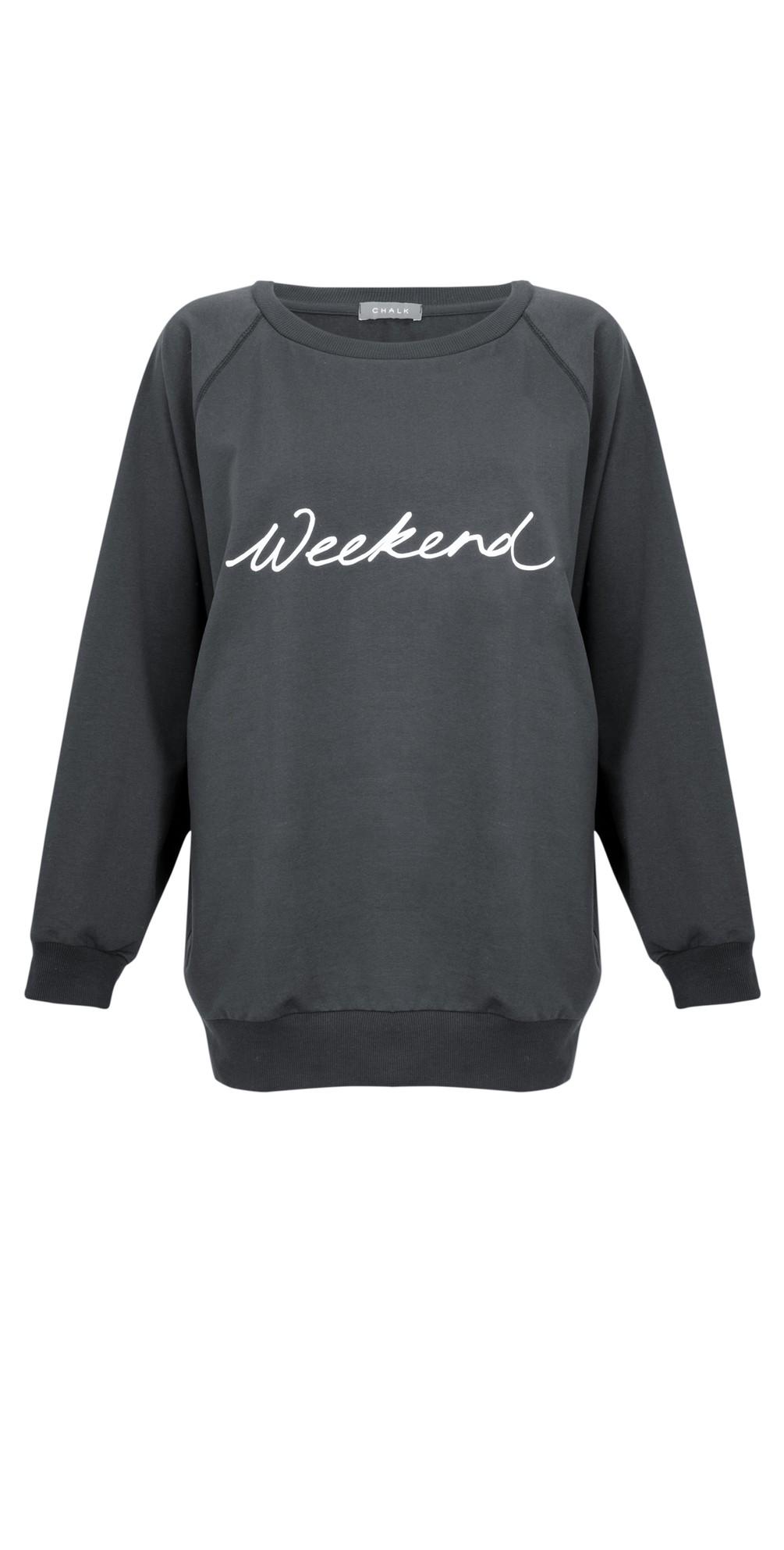 Nancy Weekend Oversized Comfy Sweatshirt main image