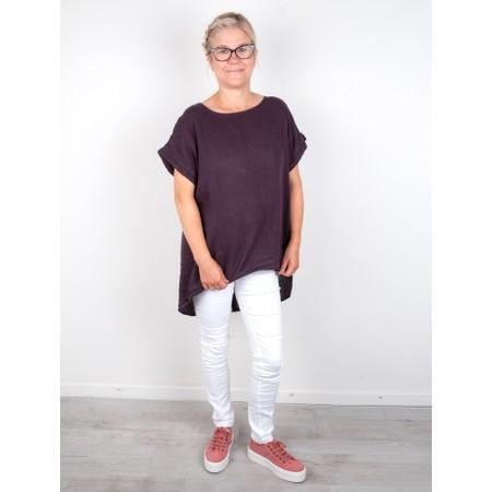 Victoria Shoes Barcelona Organic Cotton Washable Flatform Trainer Shoe  - Pink