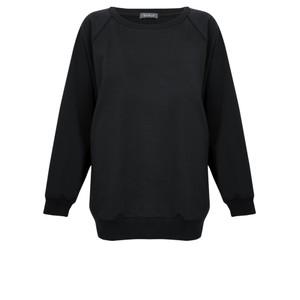Chalk Nancy Plain Oversized Comfy Sweatshirt