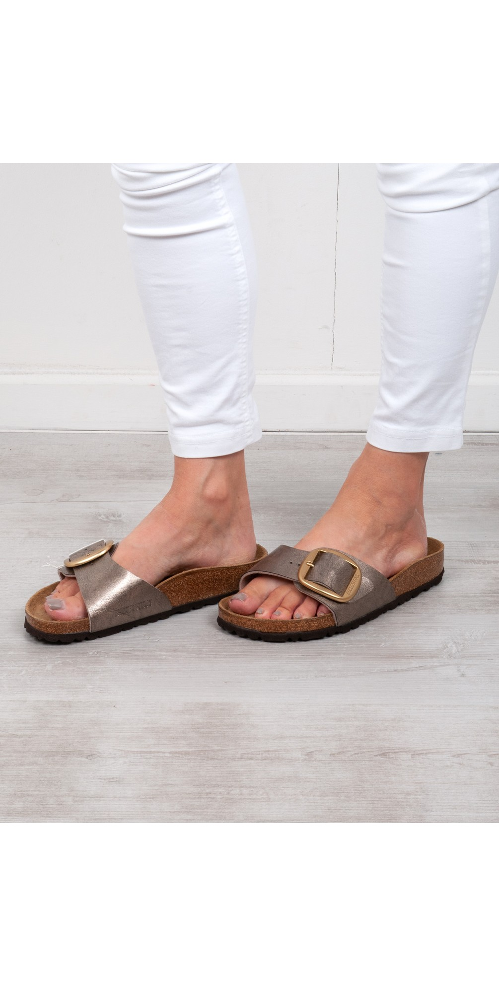 Madrid Big Buckle Sandal main image