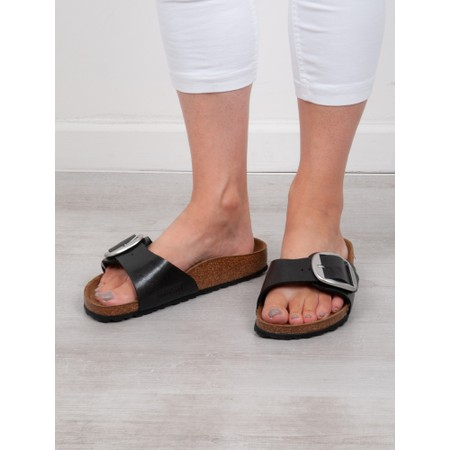Birkenstock Madrid Big Buckle Sandal - Black