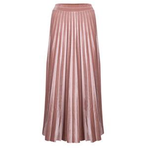 Pour Moi Velvet Pleated Skirt