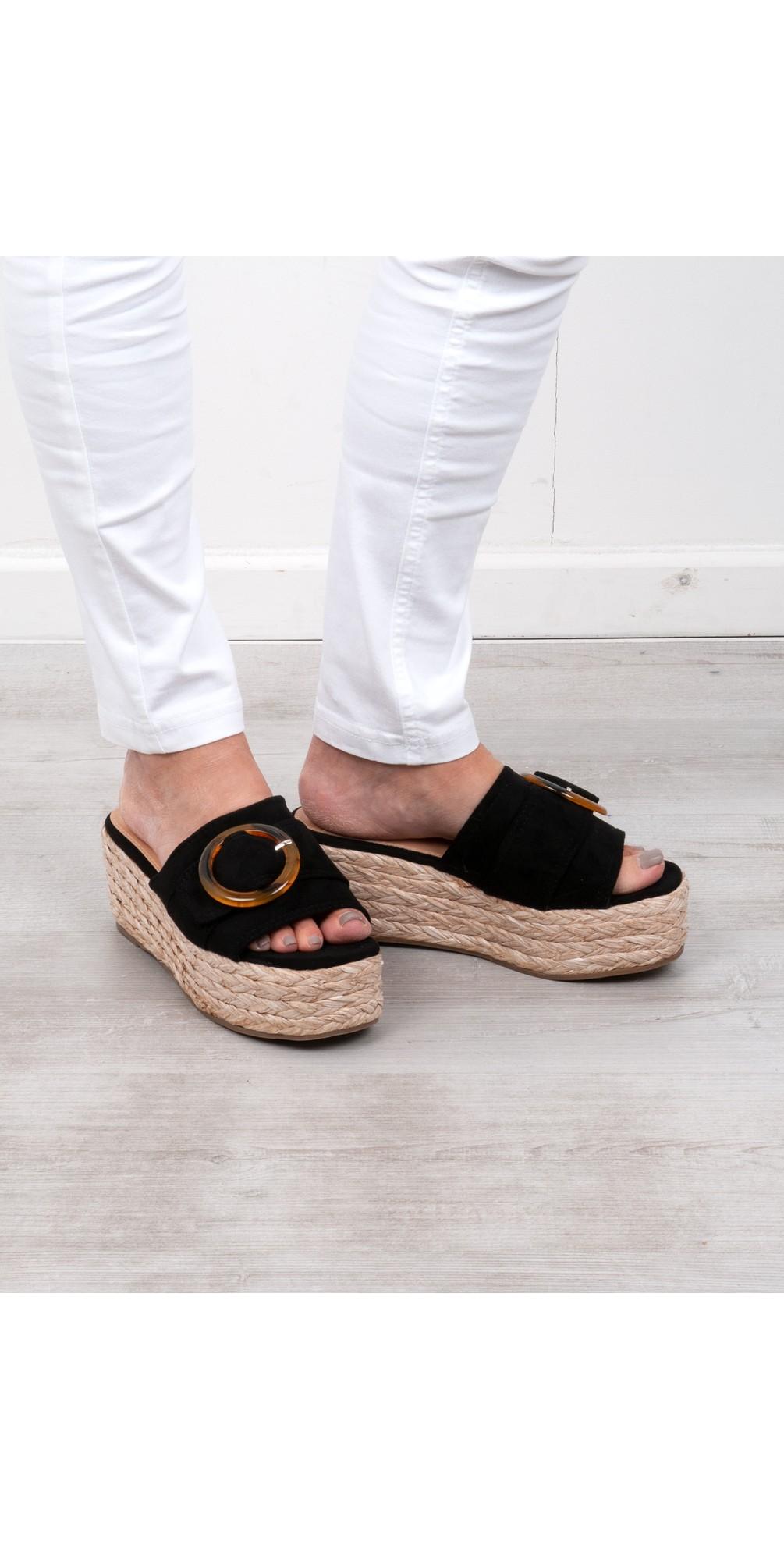 Amalfi Wedge Sandal  main image
