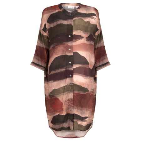 Foil Free Reign Long Shirt - Multicoloured