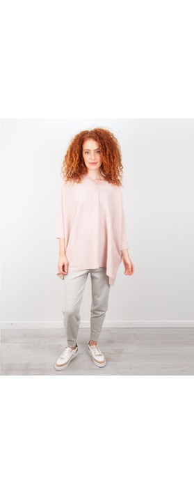 Chalk Lucy Supersoft Knit Lounge Pant Silver