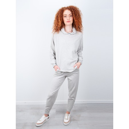 Chalk Hannah Supersoft Knit Hoodie - Metallic