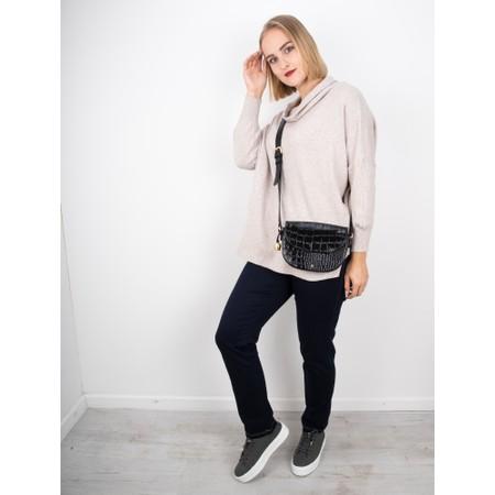 Amazing Woman  Vera Oversized Knit Jumper - Beige