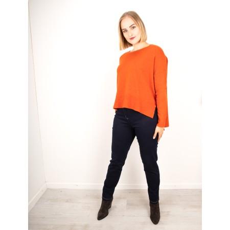 Amazing Woman  Judy SuperSoft Highlow Jumper - Orange