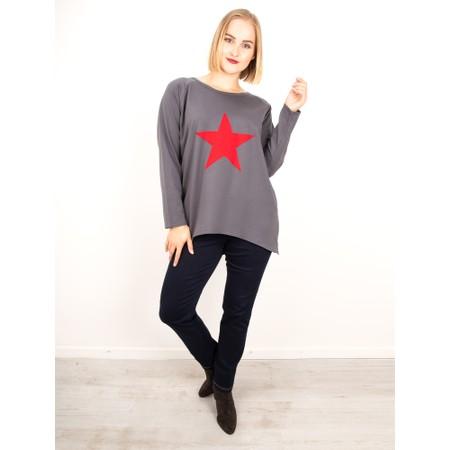Chalk Gemini Exclusive ! Robyn Star Top - Grey