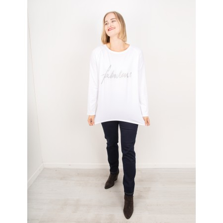 Chalk Robyn Fabulous Top - White