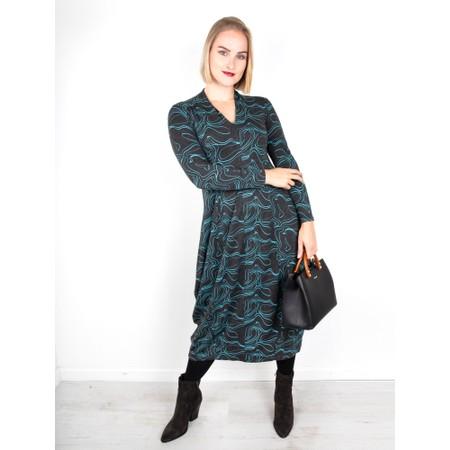 Foil Support Network Dress - Multicoloured