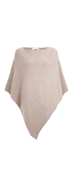 Amazing Woman  Poncho in Supersoft Knit  Beige