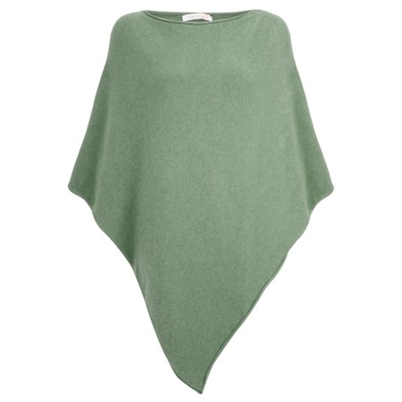 Amazing Woman  Poncho in Supersoft Knit  - Green
