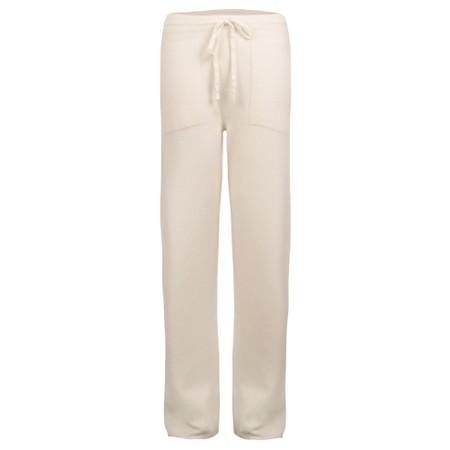 Amazing Woman  Jogger Supersoft Knit Wide Leg Lounge Pant  - Off-White
