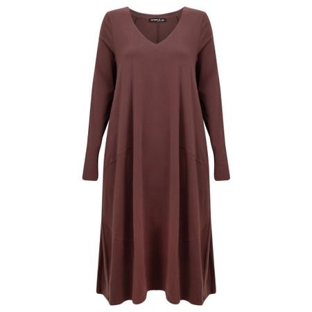 Mes Soeurs et Moi Hiphop Jersey Dress - Brown