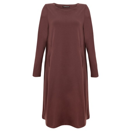 Mes Soeurs et Moi Hiatus Jersey Dress - Brown