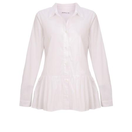 Mes Soeurs et Moi Caftan White Shirt - White