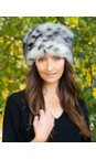 Pillbox Faux Fur Hat additional image