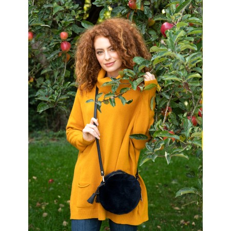 Amazing Woman  Anna Two Pocket Relaxed Fit Jumper - Yellow