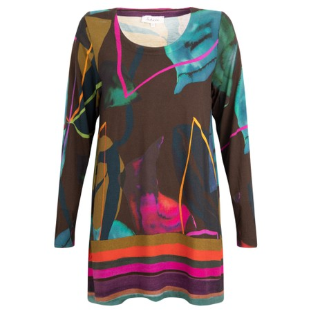Sahara Easyfit Abstract Top - Multicoloured