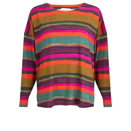 Sahara Easyfit Boxy Top - Multicoloured