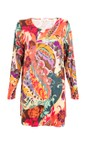 Sahara Multi Folk Paisley Print Top