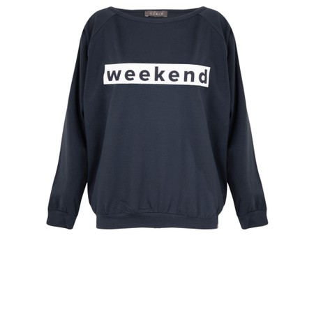 Chalk Holly Weekend Top - Blue