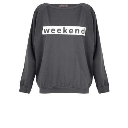 Chalk Holly Weekend Top - Grey