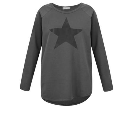 Chalk Tasha Star Top - Grey