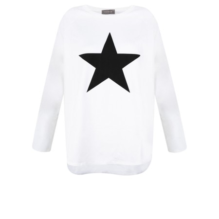 Chalk Tasha Star Top - Black