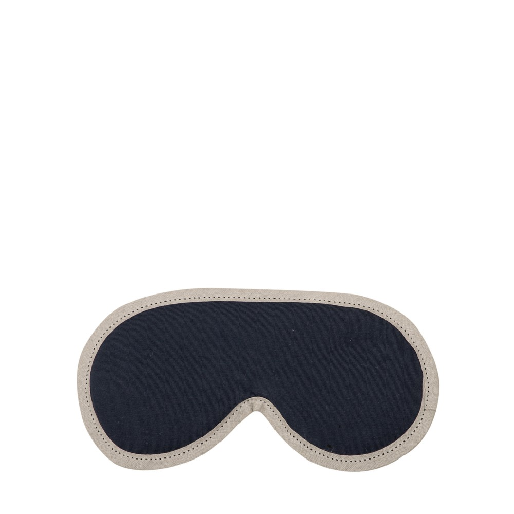 Chalk Home Emma Sleep Mask Supersoft Jersey with Lavender Navy