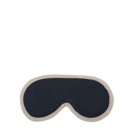 Chalk Sleep Mask Supersoft Jersey with Lavender - Blue