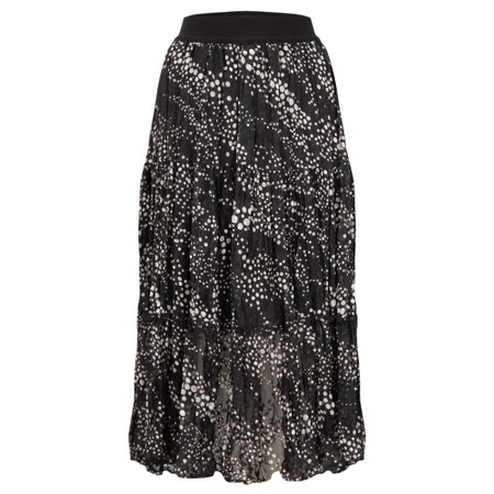 Foil Bloom With A Full View Skirt - Multicoloured