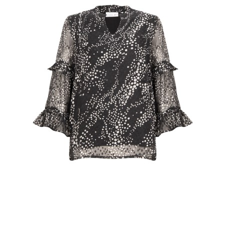 Foil The Frill Pill Blouse - Multicoloured