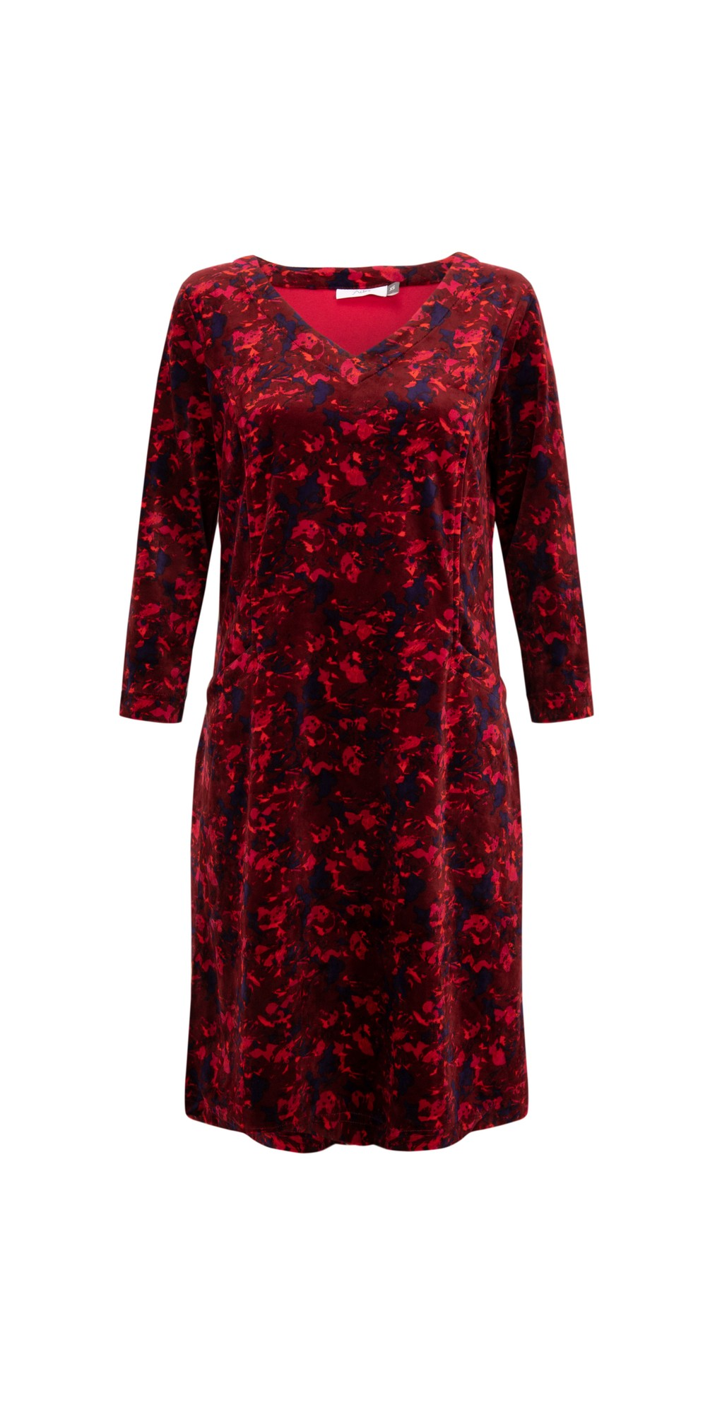 Dianna Velour Dress main image