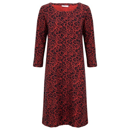Adini Laurie Dress - Red