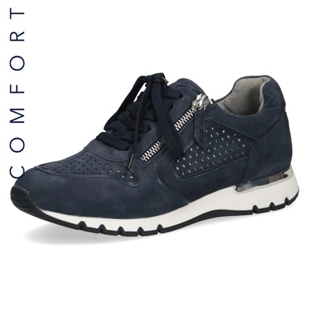 Caprice Footwear Comfort Trainer  - Turquoise