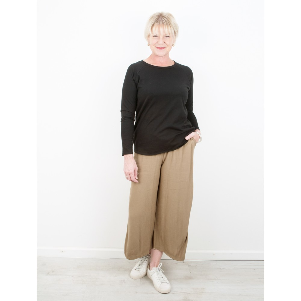 Thing Wide Leg Trouser Sand
