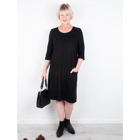 Thing Supersoft Fleece Jet Pocket Dress - Black