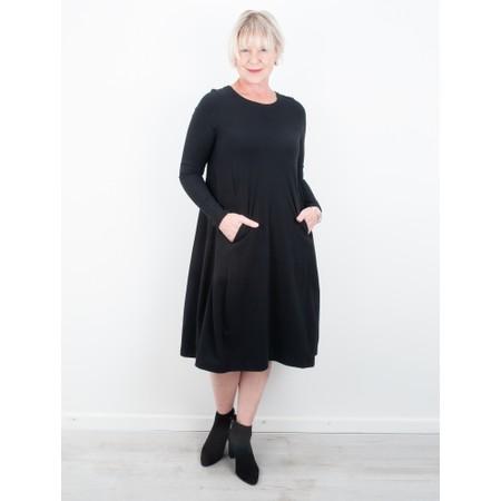 Mes Soeurs et Moi Hiatus Jersey Dress - Black