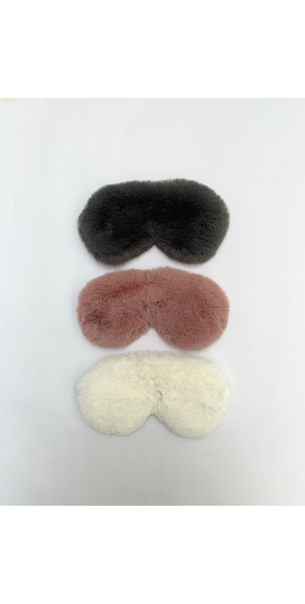 Liz Luxury Faux Fur Sleep Mask main image