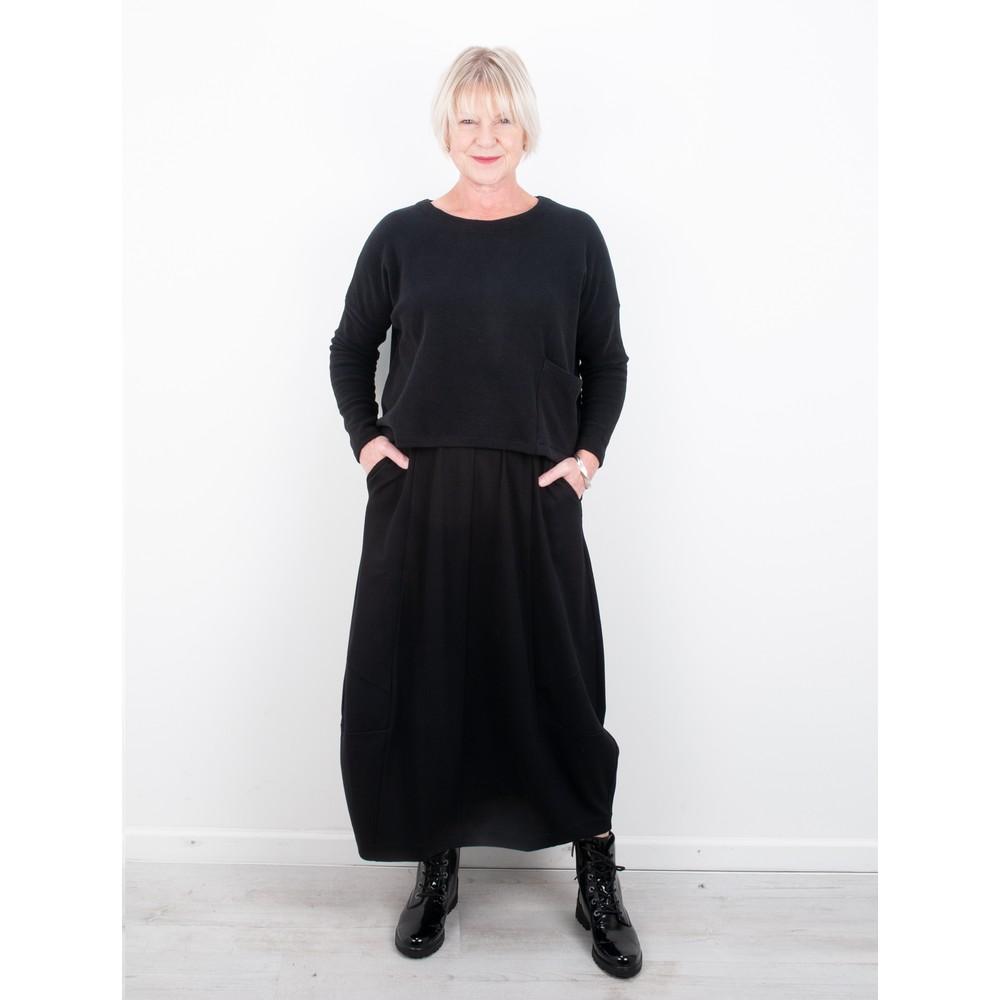 Mes Soeurs et Moi Moma Punto Skirt Black