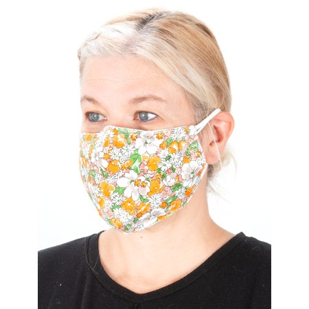 Jayley Floral Face mask  - Multicoloured