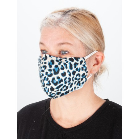 Jayley Leopard Print Face mask - Multicoloured