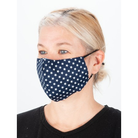 Jayley Star Face mask - Blue