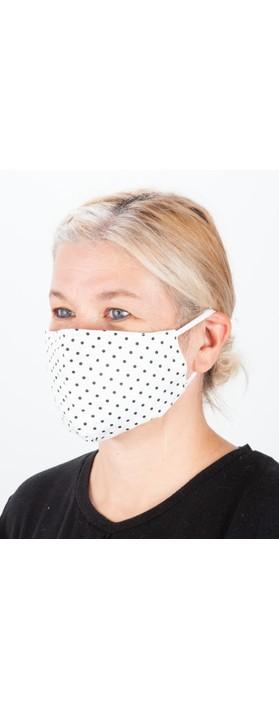 Jayley Spot Print Face mask MKD14A-02 F CREAM SPOT