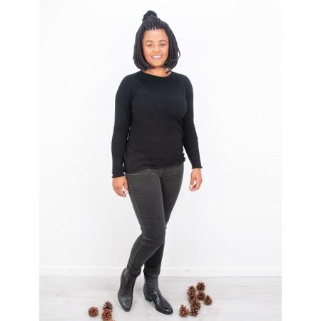 Amazing Woman  Hidden Star Supersoft Easyfit Jumper - Black