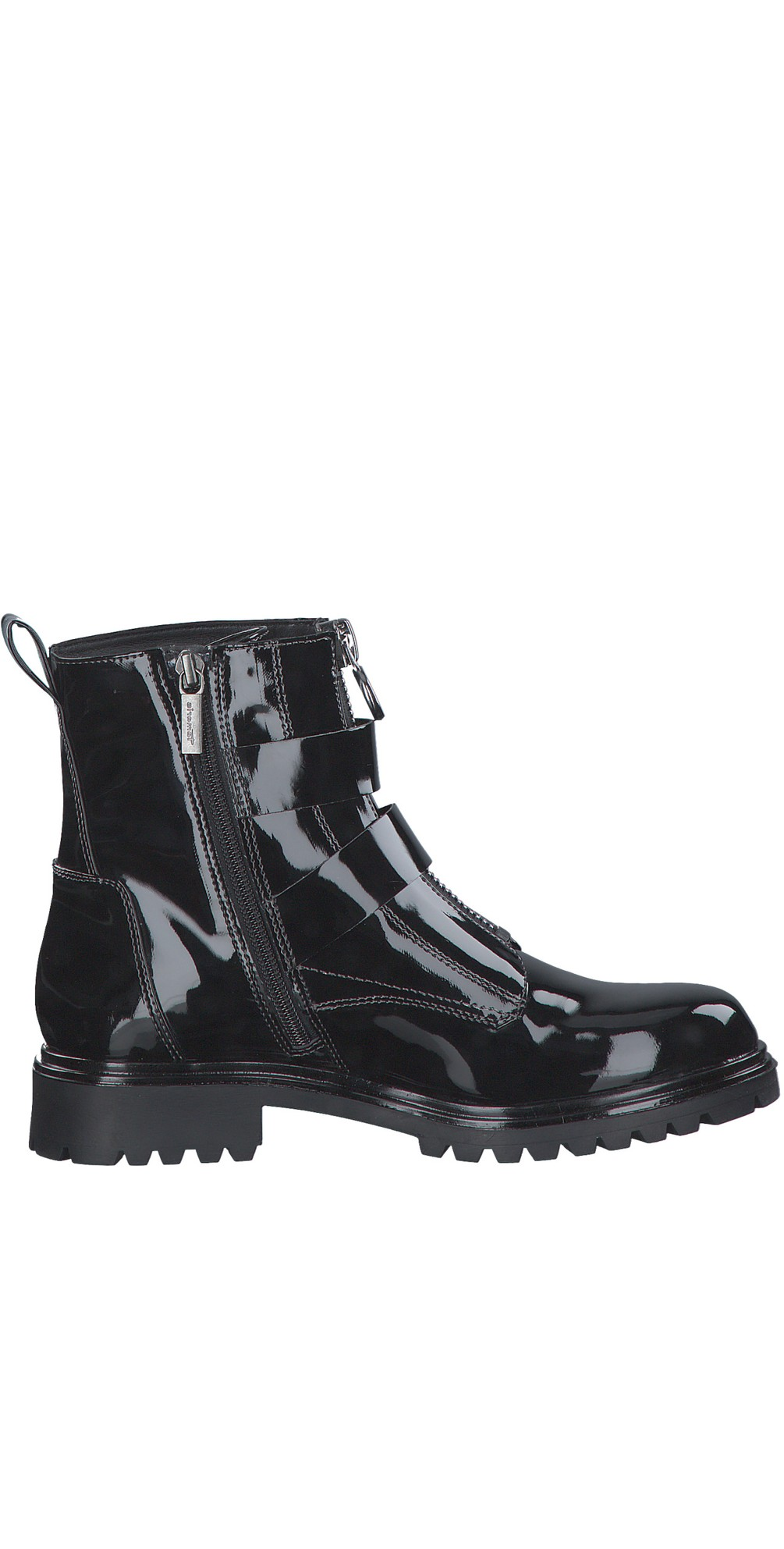 Soul buckle Military Style Ankle Boot main image