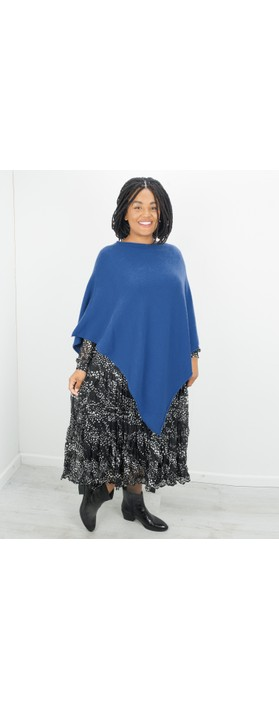 Amazing Woman Poncho in Supersoft Knit  Marina
