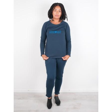 Chalk Gemini Exclusive ! Tasha Amour Top - Blue